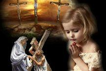 húsvéti szent képek