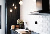 interior design in black