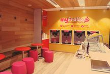 Froyo Store Design / by Winter Bloomer Interiors