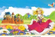 Knights, castles and princesses / by Maciek HoneyFlavour