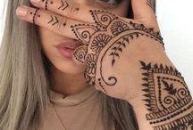 henna és tetkó