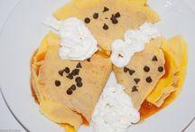 crespelle o crepes / crepes o crespelle dolci e salate per  occasioni speciali, ricette tradizionali e moderne. Scrippelle, simili alle crespelle, tipiche dell'Abruzzo.