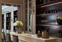 modern classic bar