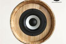 Cheers Audio Barrel / Cheers è l'innovativo diffusore acustico ad alta fedeltà brevettato © Exend.it  Audio Botti, Audio Barrel, Botti Acustiche, Wine Speakers, Sound Barrel, Audio Wood