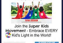 Super Kids Movement / Help your kid be a Super Kid with resources from The Super Kids Activity Guide for Conquering Every Day