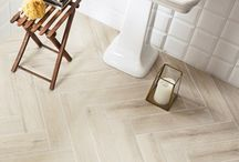 Porcelain Wood / Porcelain tiles made to look and feel like wood