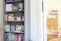 Bookshelf ideas / by Carly Parke