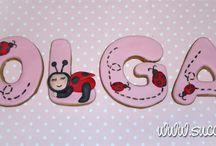 nombre en galletas