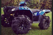 Trucks atvs snowmobiles dirt bikes rhinos and Yamaha things / by Marz Barz