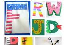 Alphabet Palooza / Any activity related to teaching letters and letter sounds.