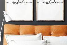 ARCH | INTERIOR | bedroom wall