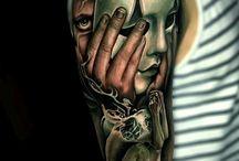 Tattoos maska