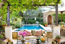 Outdoor Spaces / by Jenica Williamson
