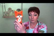 видео МК игрушки лисенка