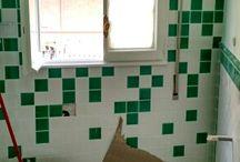 viale giustiniano imperatore / ristrutturazione completa di appartamento con rifacimento dei bagni e cucina, trasformazione cucina in studio, applicazione parquet in tutto l'appartamento, impianti elettrici, condizionamento, riscaldamento e idraulico