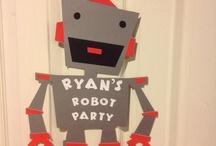 Robot birthdayparty