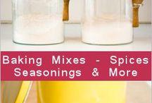 Homemade mixes & sauces