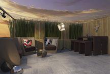 Rocky Gorge bar collection / Rocky gorge в переводе на русский означает «Скалистое ущелье». Данная коллекция подойдет для домашнего или общественного бара. В ней есть все необходимое для создания барного интерьера: барная стойка, барные стулья, столики и удобные кресла.