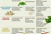 Sauces & Salad dressings