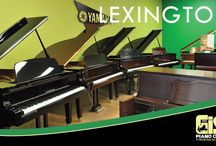 Gist Piano Center Lexington / Visit our 5500sq ft Lexington store and explore our pianos, digital pianos and print music collection.  You can also take piano lessons, attend a class or spend time in our community recital hall.  Stop by and say hello!  A wonderful world of music awaits you! / by Gist Piano Center