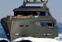 Моторные яхты