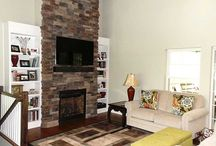 Fireplace Ideas / Fix up your fireplace with ideas from real projects, with real budgets.