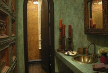Pretty bathroom ideas / by Penny Mixhau