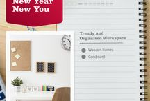 Office and Study Ideas / Build a space of creativity and solitude where you can draw productivity and inspiration from.