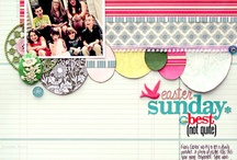 ** Layout Love ** / A carefully curated collection of scrapbook layouts to inspire your own creativity.
