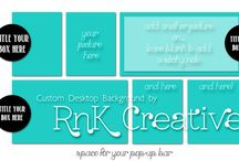 RnK Products / Links to products offered by RnK Creative.  Items available through our etsy shop: https://www.etsy.com/shop/KimberleeRnK Keep up-to-date via our blog; http://rnkcreative.blogspot.com/