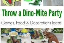 Dinosaur party / by Diana