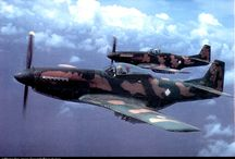 WW II planes in later use