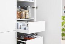 Organização Cozinha/despensa