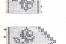wzory filetem