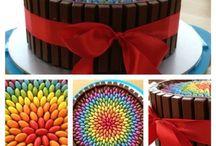 torta, pasteles y comida cumpleaños