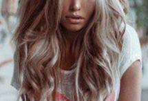 hår / colours, curls, updos