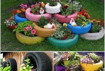 reciclaje jardin