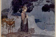 Edmund Dulac - Women of myth and legend - 1911