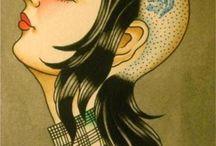 skinhead girl