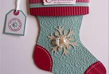 SU Christmas Stocking die