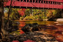 Fine Art Covered Bridges by Jeff Folger / Covered Bridges of New England that are great examples of Quintessential New England Covered Bridges