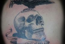 self-made tattoo