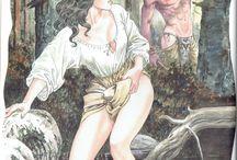 Manara Maestro Dell'Eros - Vol. 5 / Tutto Ricominciò con un'Estate Indiana