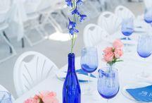 Clear Spring / Winter Wedding Theme
