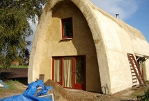 Earthships, straw house, ecohouse / Wish I lived in a country with less regulations so I could build one myself. Dreams...