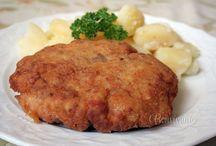 recepty mäso