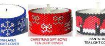 Beading - Tea Light Covers
