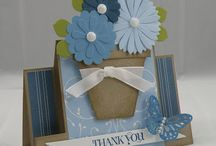 Thank You-Thinking of you / Handmade cards / by Debbie Montrallo