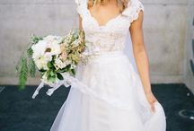 Rustic Wedding Desses