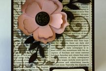Cards - Flowers/Rosettes / by Susan Kuenzel